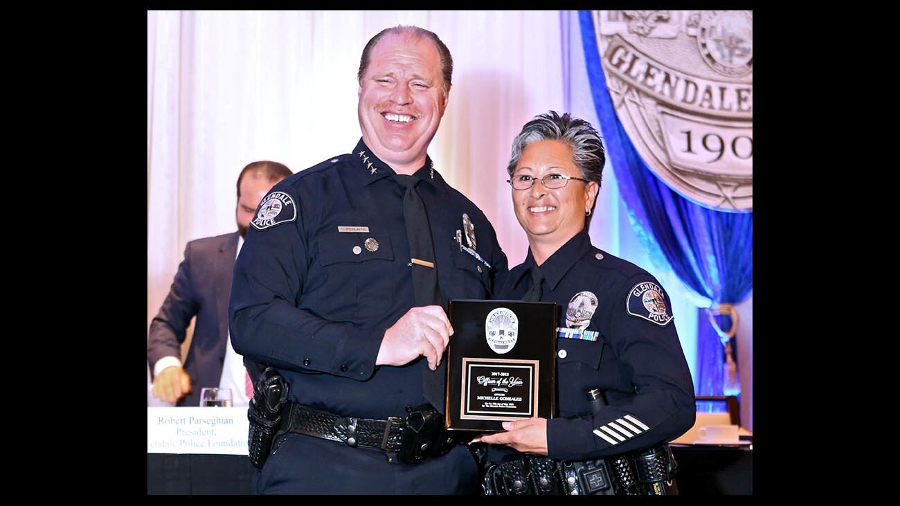 Photo Gallery: Glendale Police Awards Luncheon 2018