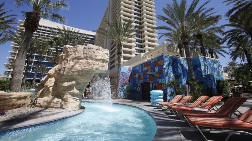 Harrah's Resort Southern California was the first in the San Diego area to open a Las Vegas-style pool complex and the first to have a lazy river.