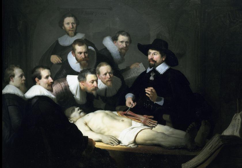 'The Anatomy Lesson'