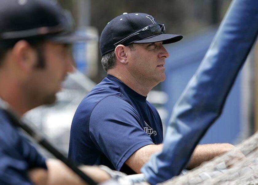 UCSD baseball coach Dan O'Brien left the Tritons to take over at Santa Clara.