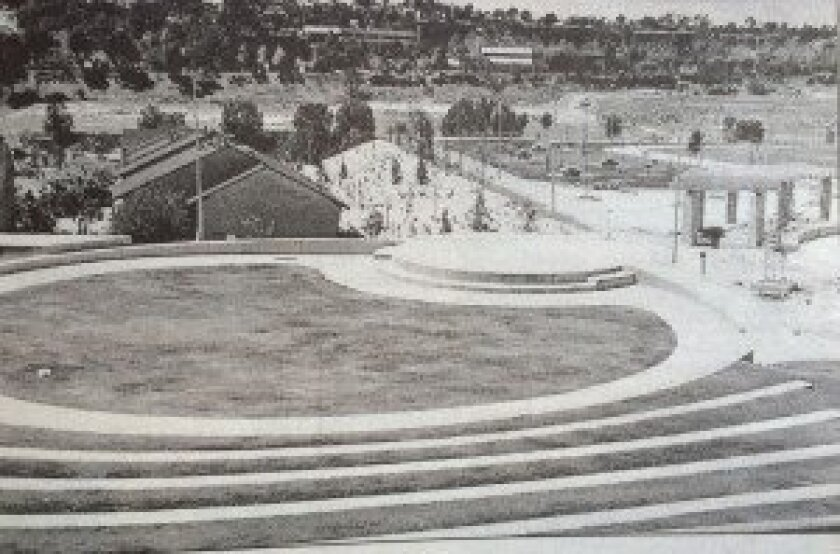 The Carmel Valley Recreation Center when it opened in 1999.