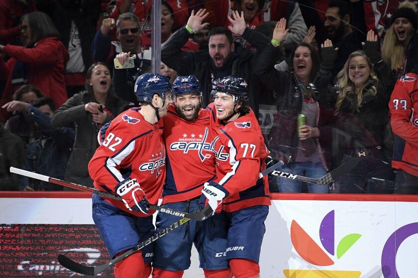 Senators Capitals Hockey
