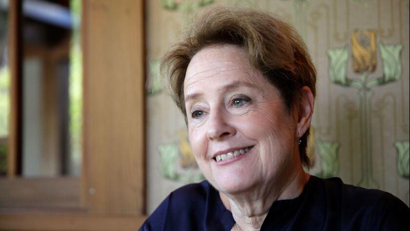 Alice Waters, founder of Chez Panisse restaurant in Berkeley.
