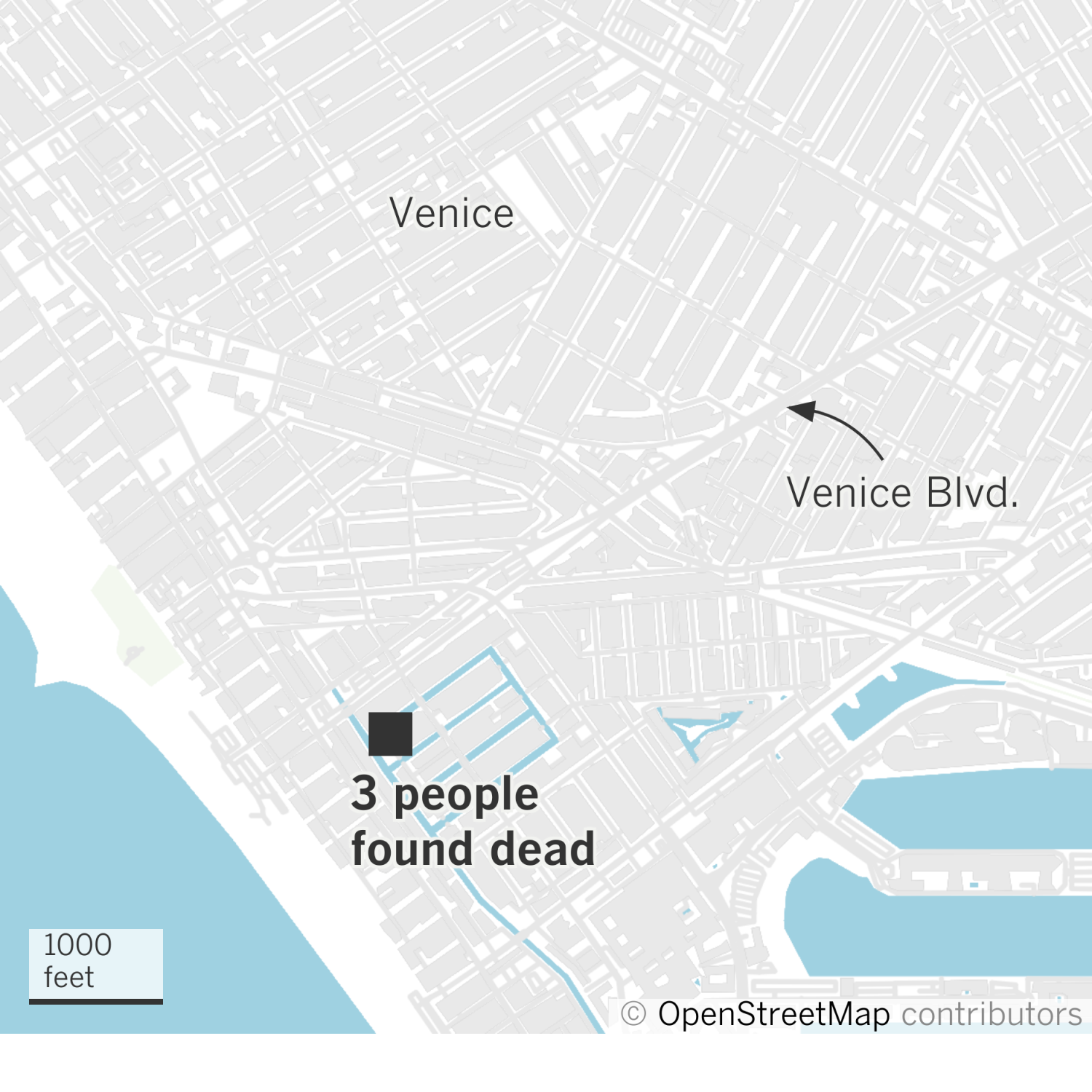 Three dead of overdose early Saturday morning in Venice