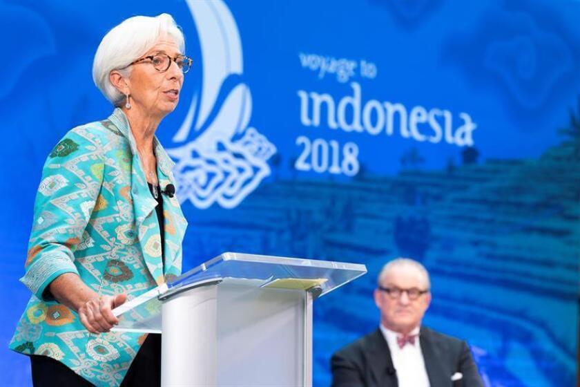 La directora gerente del Fondo Monetario Internacional (FMI), Christine Lagarde. EFE/Stephen Jaffe FMI - SÓLO USO EDITORIAL - NO VENTAS
