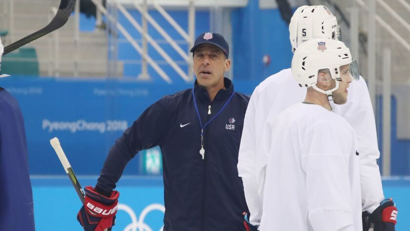 Chris Chelios is in his fifth Olympics, this time as an assistant on the U.S. team.