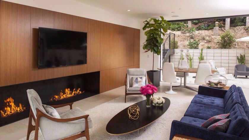 The Clea House in Hillcrest is one of five homes that will be open for a home tour sponsored by the San Diego Modern Architecture + Design Society on Saturday, Oct. 15. Nakhshab Development & Design
