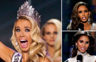Miss Nevada stumbles but Miss Oklahoma wins Miss USA