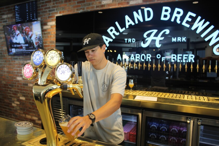 Harland Brewing Company is now open in One Paseo.