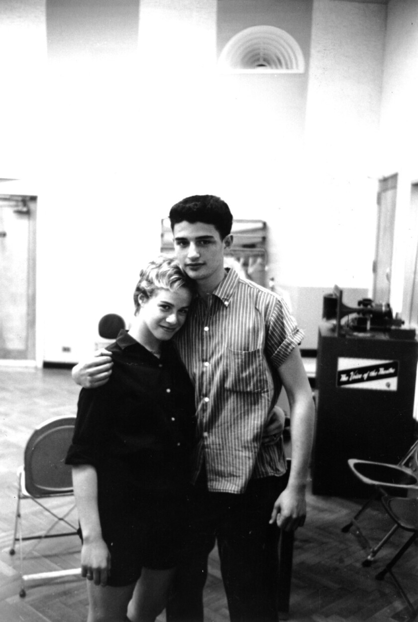 Songwriting Team Carole King and Gerry Goffin