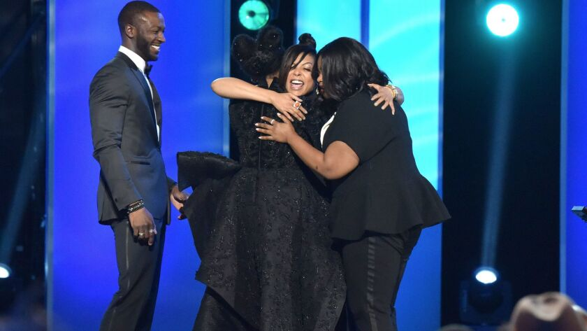 Aldis Hodge, Janelle Monae, Taraji P. Henson, and Octavia Spencer