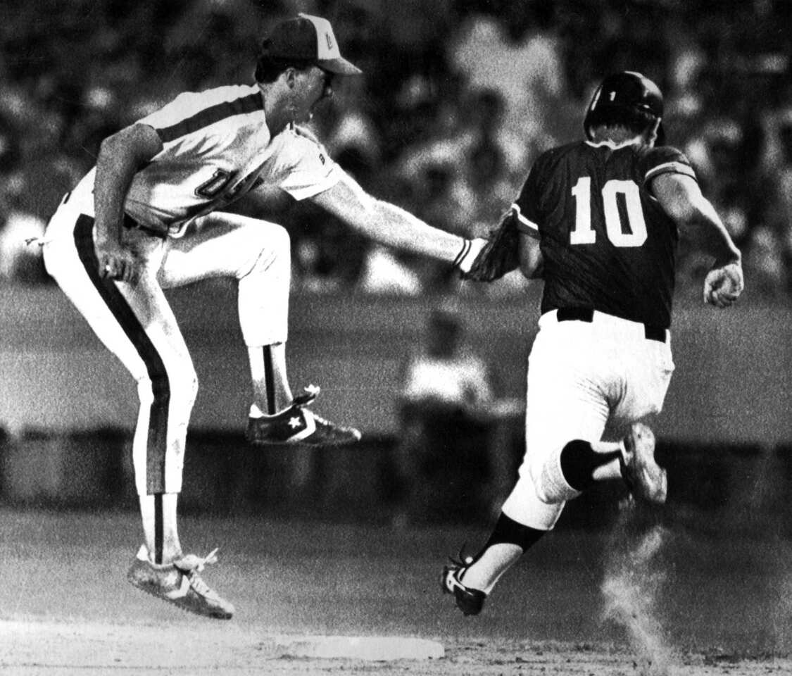 Dodger Stadium established itself as an international venue in 1984 when it hosted the Olympics baseball competition. The eight-team competition averaged crowds of more than 48,000. The U.S. team, which was made up of college players such as future major leaguers Mark McGwire, pictured, left, Barry Larkin and Will Clark, won the silver medal. The Americans were defeated in the final by Japan, which included future seven-time Japanese league All-Star Yutaka Wada. Future Dodger pitcher Ramon Martinez pitched for the Dominican Republic. Cuba was part of the Soviet Union-led boycott and didn't participate. In later years, Dodger Stadium hosted the opening ceremonies of the 1991 U.S. Olympic Festival and the World Baseball Classic.