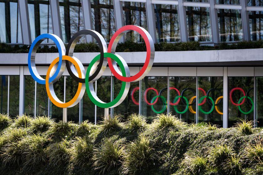 International Olympic Committee headquarters in Lausanne, Switzerland.