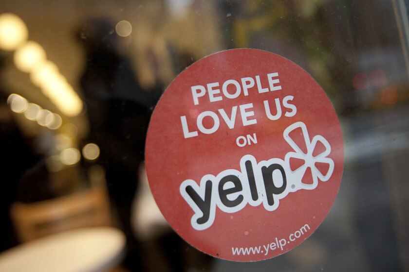 The Federal Trade Commission ended an nearly yearlong inquiry into Yelp's business practices and its recommendation software without taking any action, the online retailer said in a blog post.