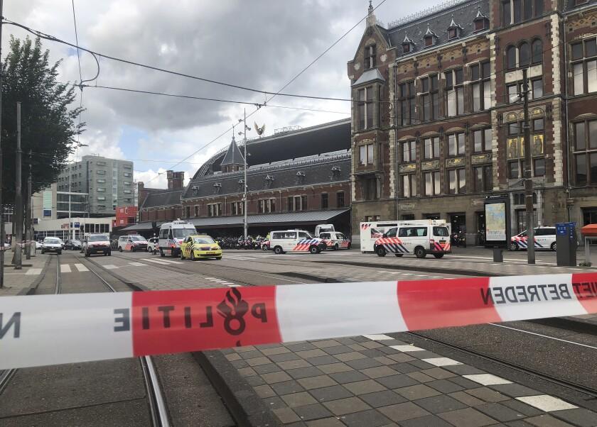 Netherlands Station Attack