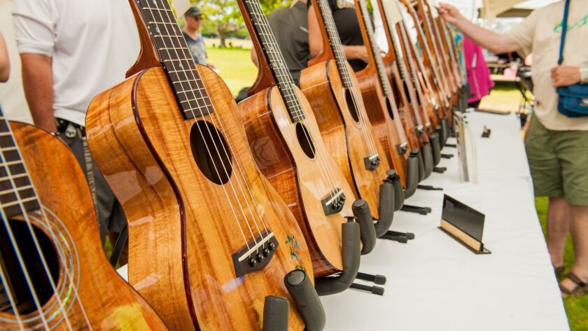 43rd Annual Ukulele Festival Hawaii, July 21, 2013, 10am-4pm at Kapiolani Park.
