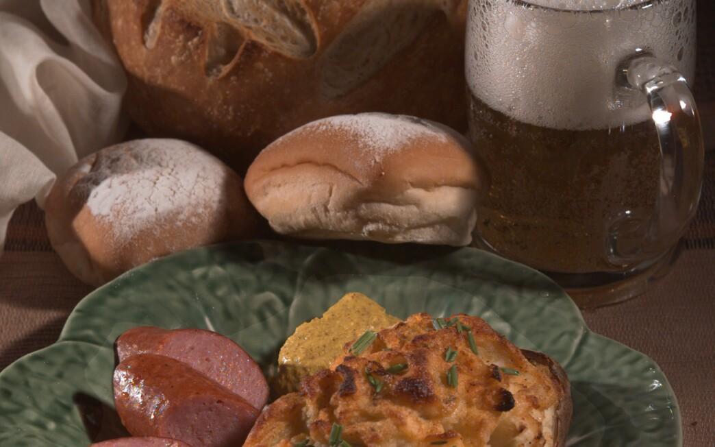 St. Paddy's twice-baked potatoes