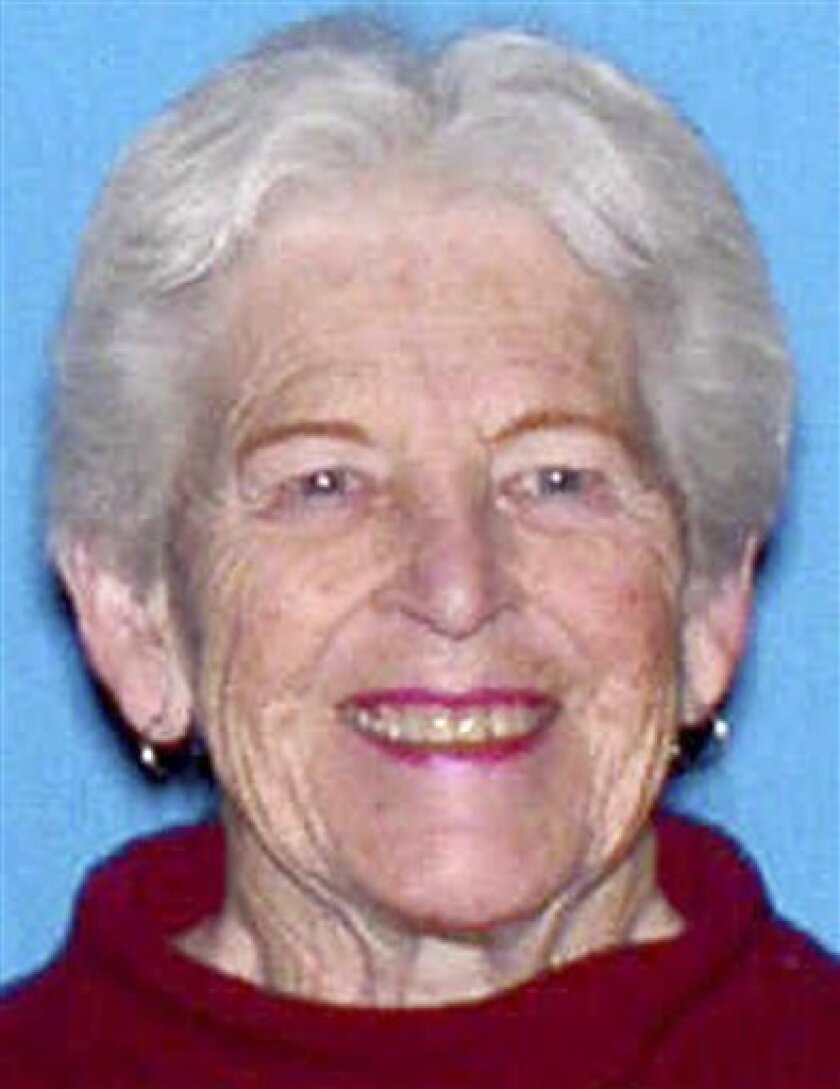 FILE - This undated file identification photo released Sunday, Sept. 12, 2010, by the Vermont State Police, shows Pat O'Hagan, 78, of Sheffield, Vt. Police in Vermont say a body found by hunters Sunday, Oct. 3, 2010, may be that of O'Hagan who disappeared in an apparent kidnapping in September. Investigators say they're awaiting the results of an autopsy before they will be able to say for certain if the body found in Wheelock, Vt., is that of O'Hagan. (AP Photo/Vermont State Police, File)