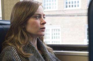 Justin Chang reviews the 'lurching' 'The Girl On The Train' starring Emily Blunt