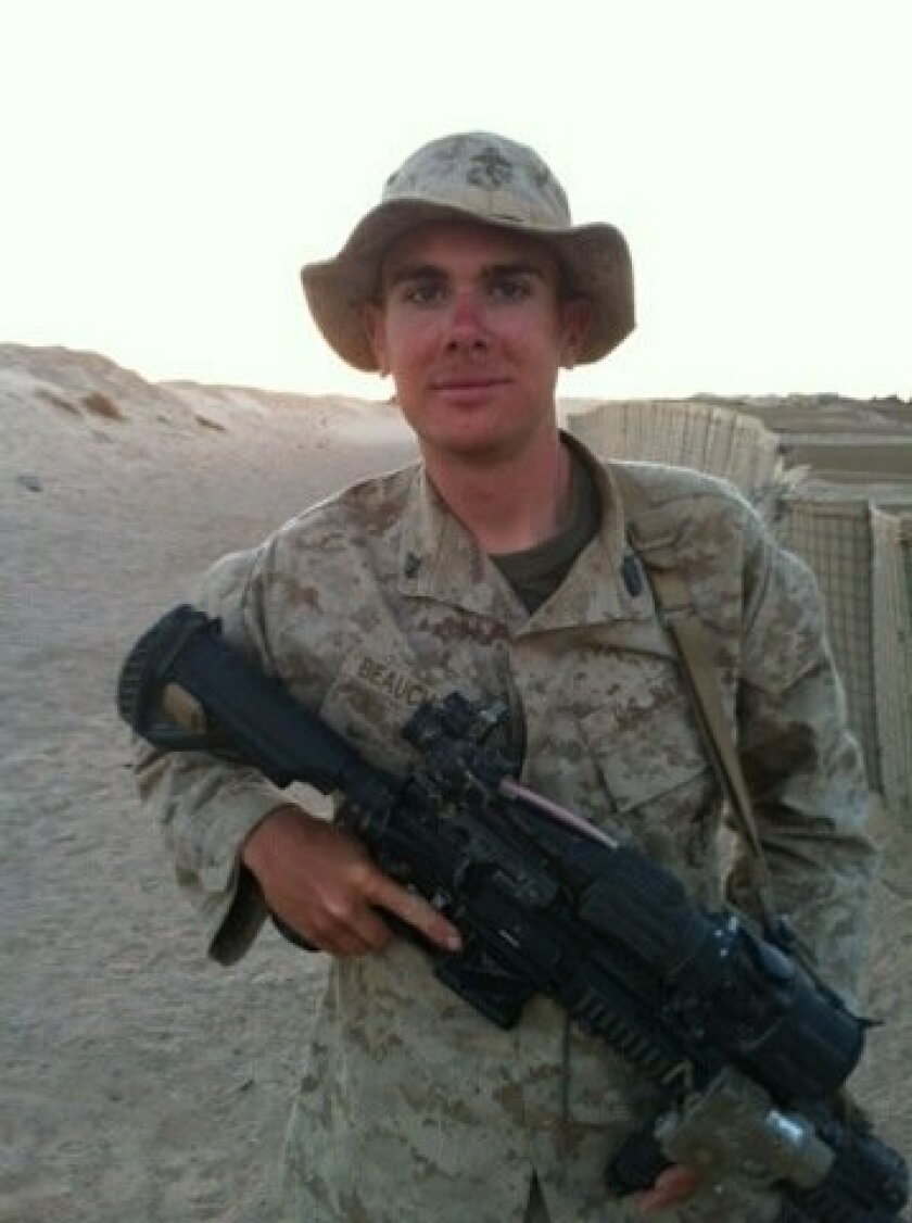 Petty Officer 3rd Class Clayton Beauchamp, 21, of Weatherford, Tex., was killed three weeks into his first deployment to Afghanistan.