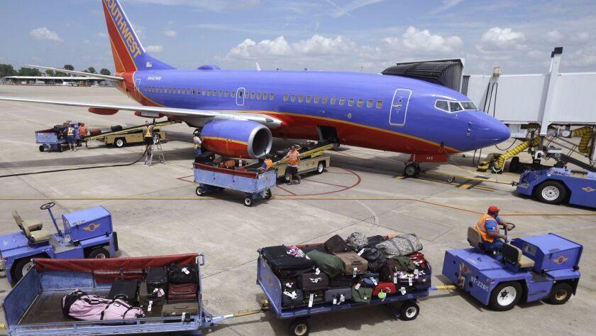 Southwest Airlines internet