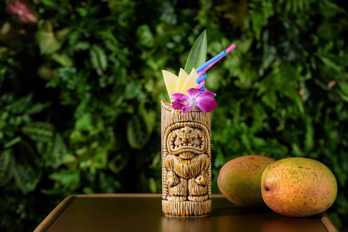 The Grass Skirt is hosting its first Tiki Luau. (Courtesy photo)