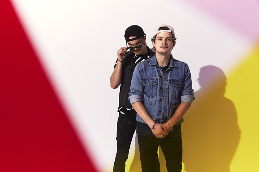 Nashville-based Cherub, Jordan Kelley and Jason Huber, will spend the very last night of their three-month, 50-date Bleed Gold tour in San Diego.