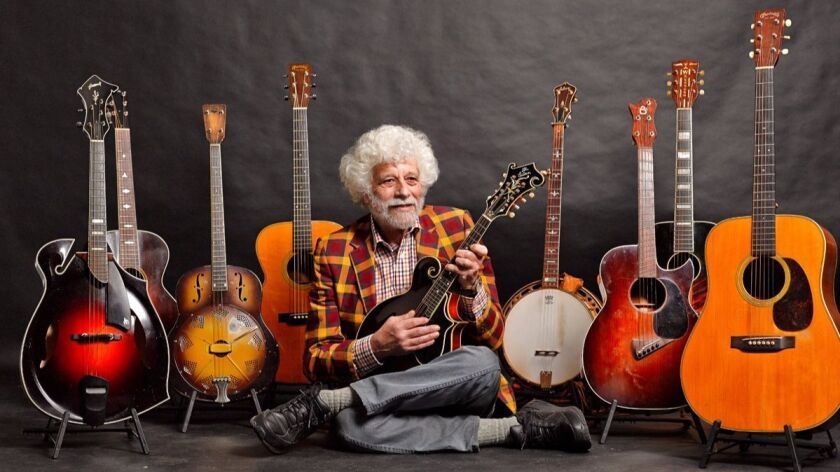 Lowell Levinger, known as Banana during his days in The Youngbloods and still today, will perform twice in San Diego this weekend.