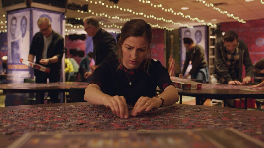 """Kelly Macdonald in the movie """"Puzzle."""""""