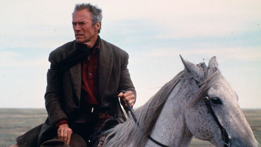 """Clint Eastwood rides alone to settle a painful score in """"Unforgiven."""""""