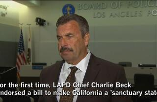 LA 90: The bill to make California a sanctuary state