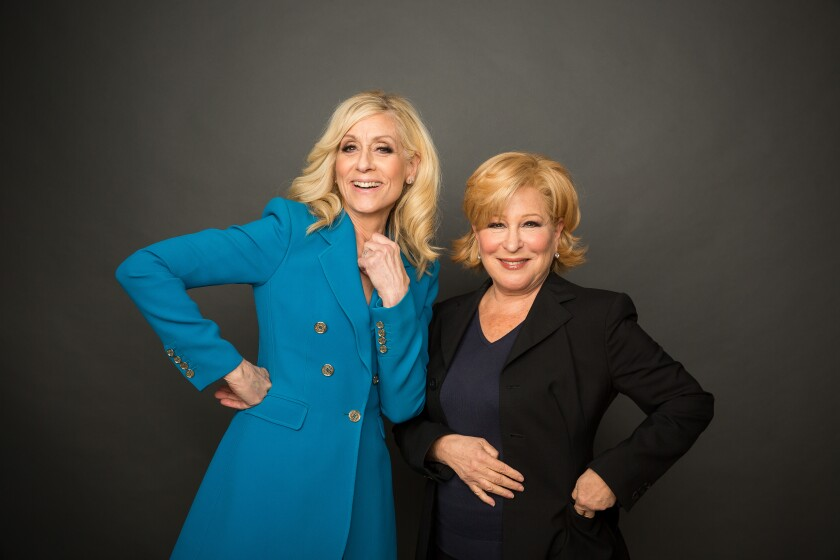 """Judith Light, left, and Bette Midler are a powerful team in the Ryan Murphy-produced Netflix series """"The Politician."""""""