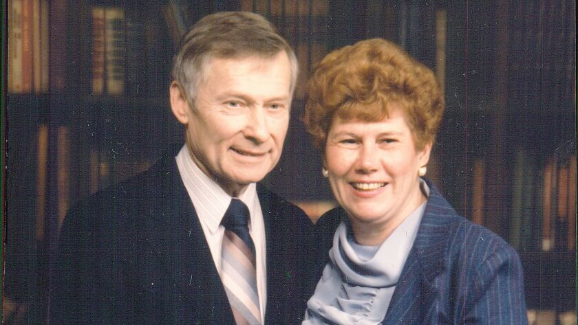 The parents of Kenneth Serbin, Paul and Carol Serbin.