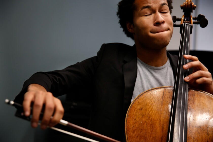 British cellist Sheku Kanneh-Mason