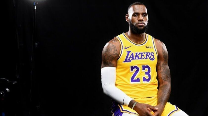 LeBron James and the Lakers take on the Portland Trail Blazers.