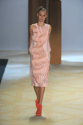 31 Phillip Lim's ruffled dress sculpted with zippers.