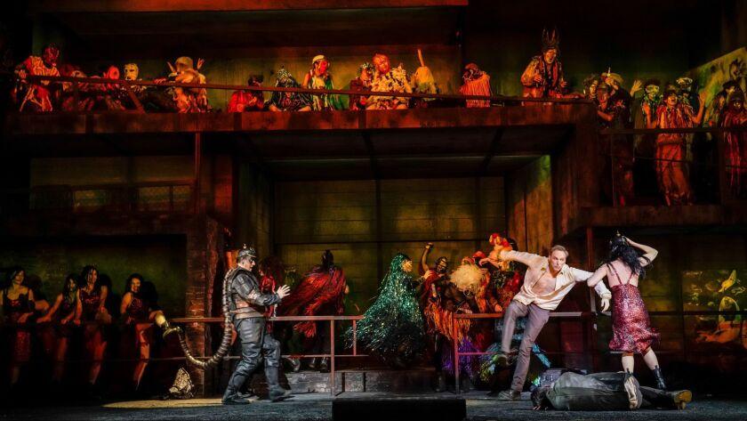 Babylon Oper in sieben Bildern (2012/2019) Musik von Jörg Widmann Text von Peter Sloterdijk Mu