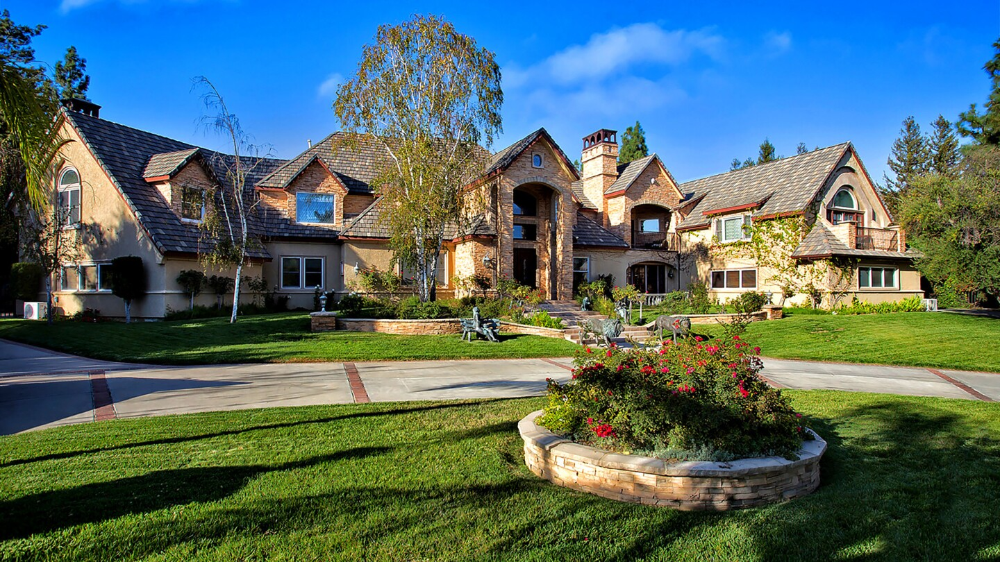 A year-and-a-half ago, DJ Mustard paid $2.36 million for this property in Chatsworth.