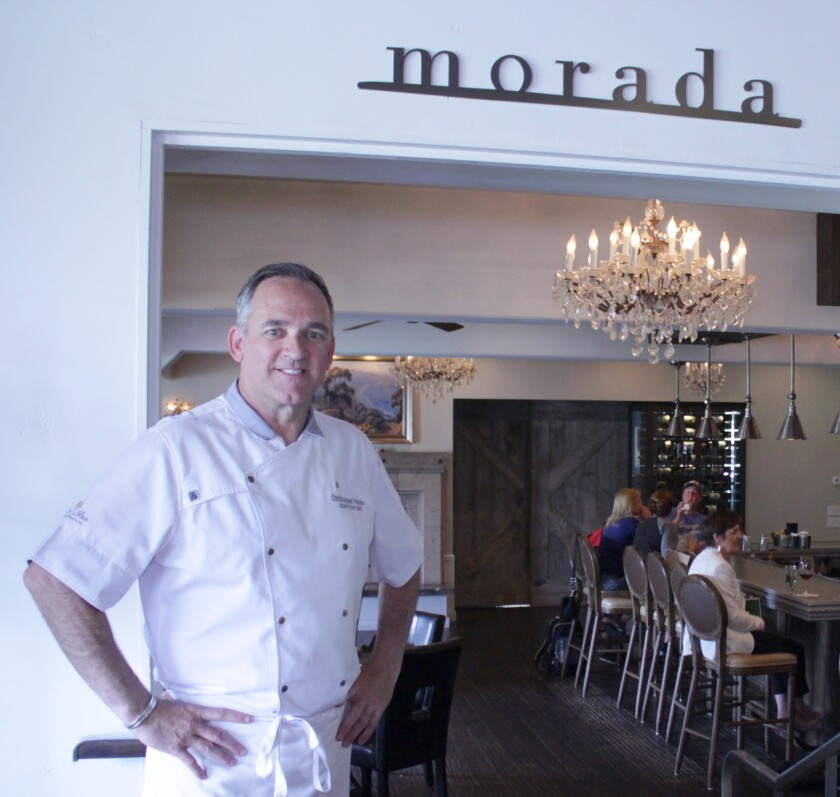 Chris House, executive chef of Morada restaurant at The Inn at Rancho Santa Fe.