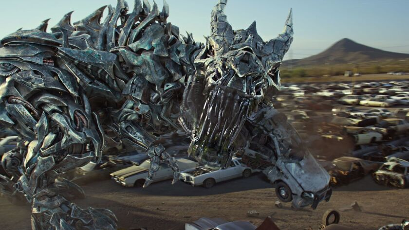 Grimlock in TRANSFORMERS: THE LAST KNIGHT, from Paramount Pictures. Credit: Paramount Pictures/Bay F