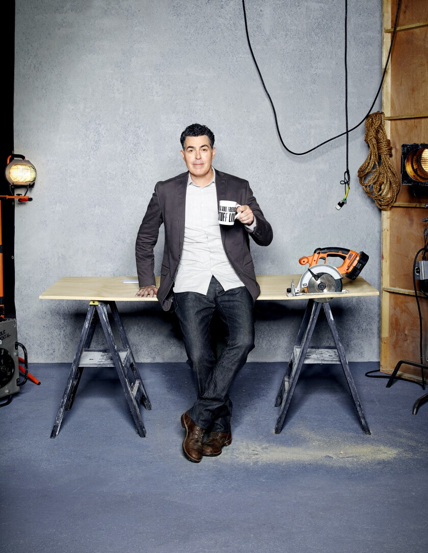 "A photo of ""Adam Carolla and Friends Build Stuff Live"" on SPIKE."