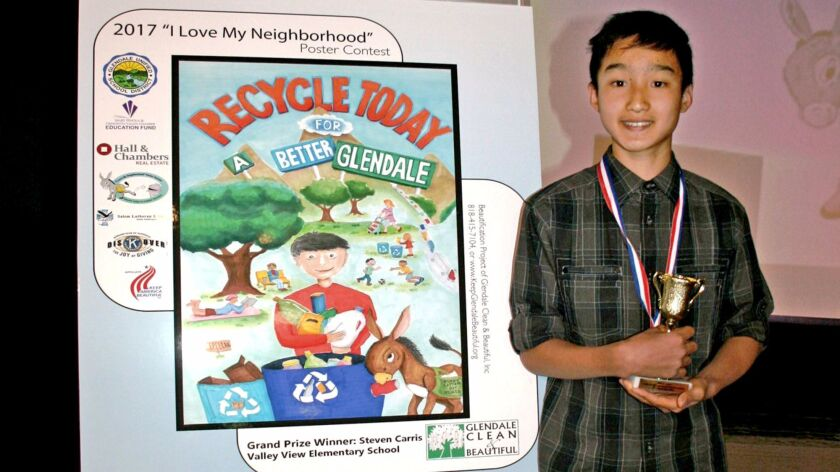 Valley View student named grand-prize winner of poster contest that