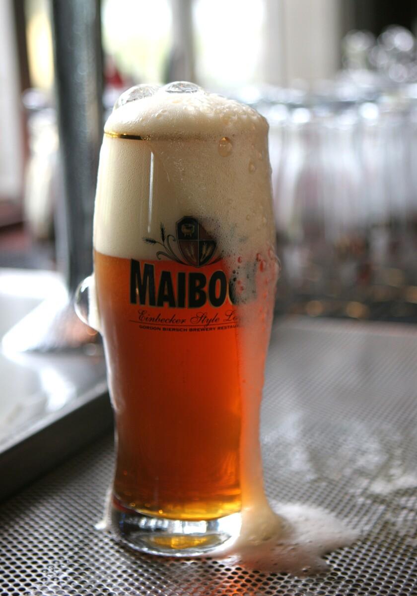 Gordon Biersch was known for its German-style lagers. (John Gastaldo / The San Diego Union-Tribune)