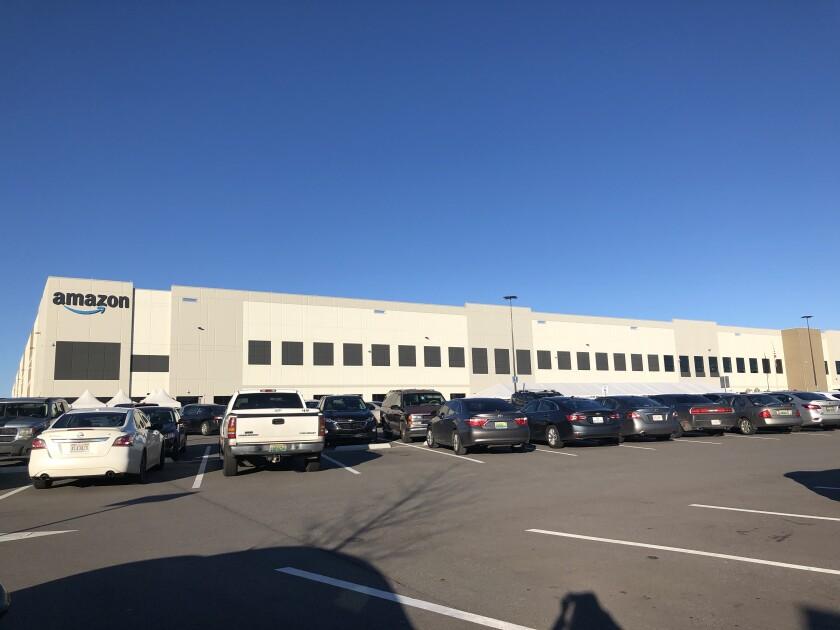 An Amazon Fulfillment Center in Birmingham, Ala.