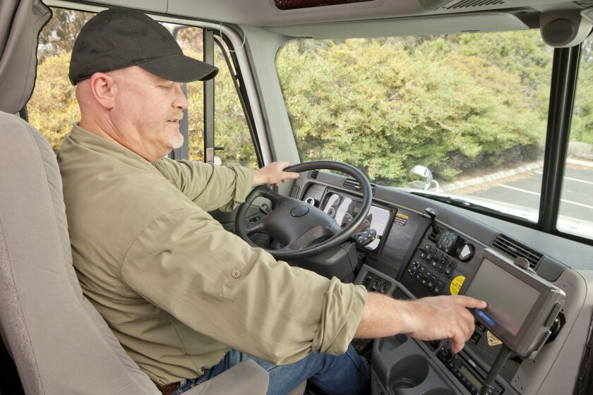 Qualcomm Enterprise Services makes hardware and software for trucking fleets