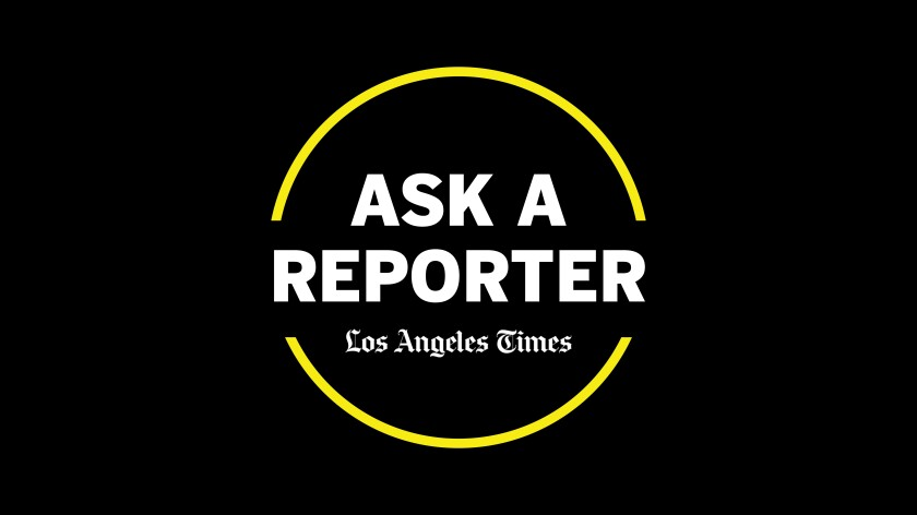 Ask a Reporter is the L.A. Times' weekly live chat with a reporter about their job.