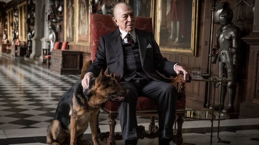 "Christopher Plummer is J. Paul Getty in ""All the Money in the World."""