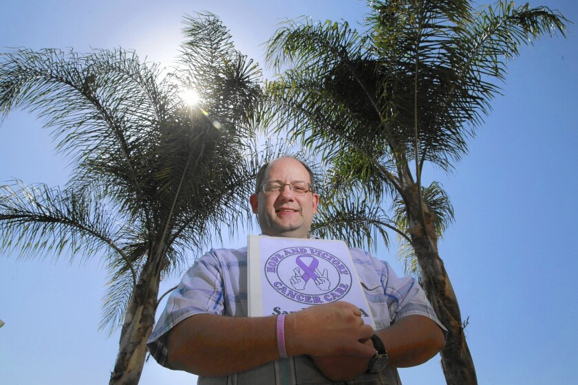 Brian Tieber, 47, a former facilities manager from San Diego, is in remission after battling advanced stage cancer. When he was diagnosed in 2012, the tight budget that he and his wife managed got much tougher.