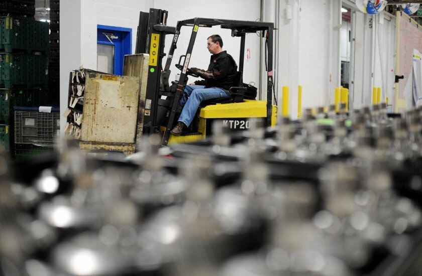 Manufacturing growth unexpectedly slowed in March, ISM reports