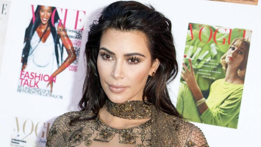 Kim Kardashian West en la Gala del Festival Vogue 100, celebrada en los Jardines de Kensington, Londres, el 23 de mayo. (Jeff Spicer / Getty Images)